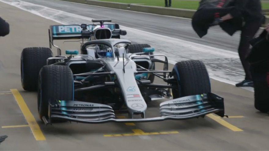 Mercedes AMG y Red Bull desvelan sus nuevos monoplazas