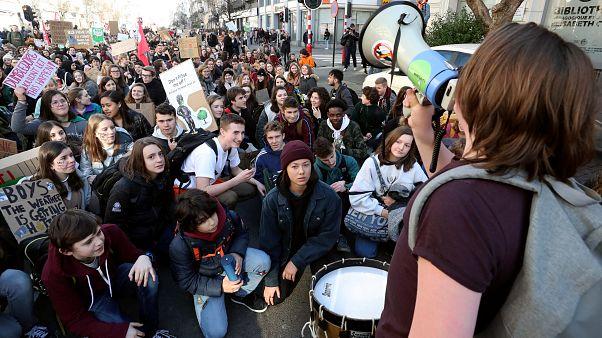 Manifestation pour le climat à Bruxelles