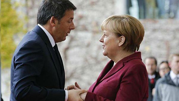 Merkel should be next EU Council president, Renzi says in new book