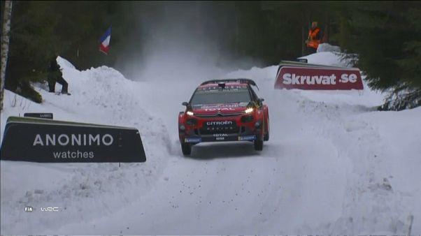 """Neuville gana el """"shakedown"""" del Rally de Suecia y Latvala hace historia"""