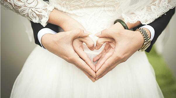 Which EU countries have the most marriages?