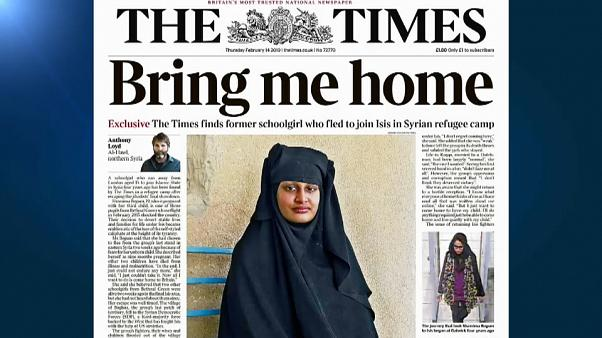 """""""Noiva do Daesh"""" quer voltar a Londres"""