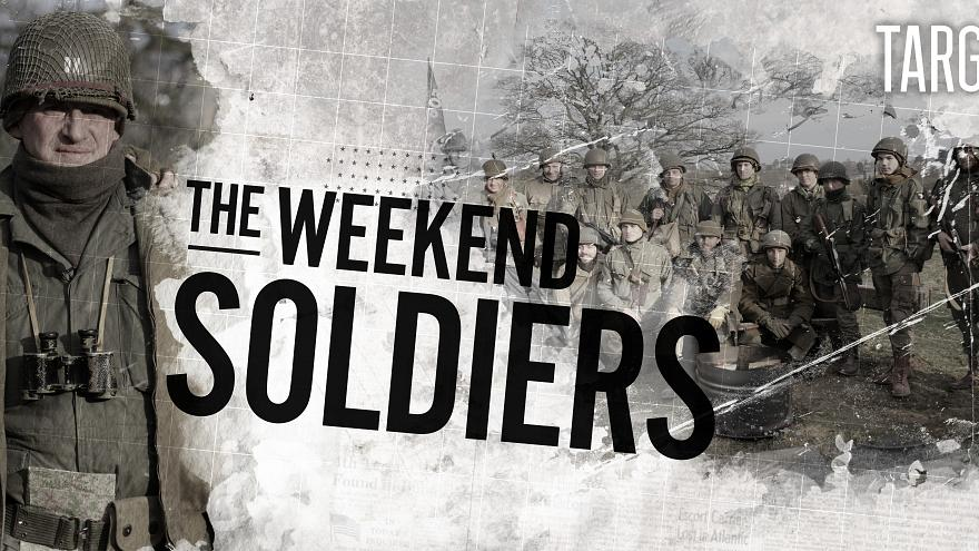 Watch in 360°: Weekend 'soldiers' relive the decisive battles of World War II