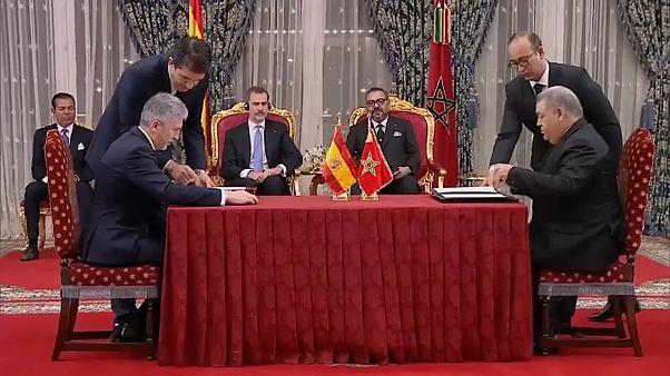 ملك المغرب وملك إسبانيا