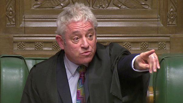 Спикер британского парламента призывает к порядку