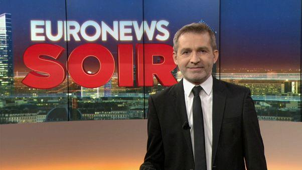 Euronews Soir : l'édition du vendredi 15 février
