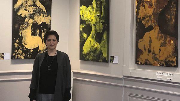 هنرمند ایرانی با «پایان شب سیه سپید است» به فرانسه آمد