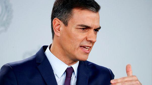 Chefe do Governo espanhol anuncia eleições para 28 de abril