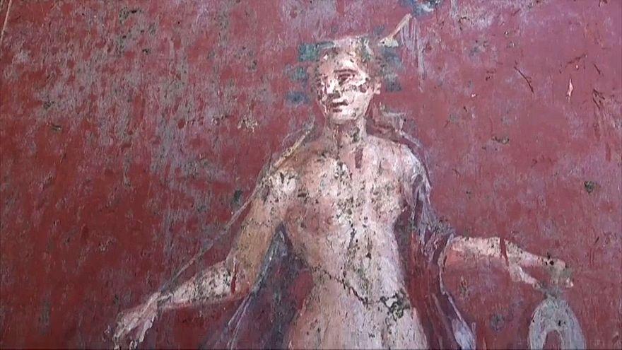 Selbstverliebt in Pompeji: Archäologen legen Narziss frei