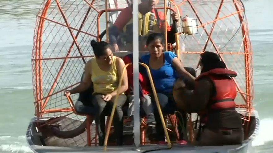 Aumentan los rescates de migrantes en el Río Grande