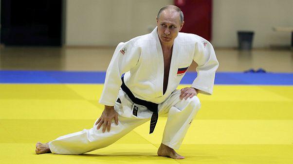 پوتین در جریان مبارزه با قهرمان جودو روسیه مجروح شد