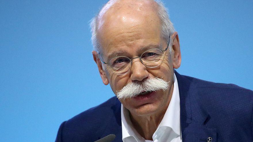 Weniger Geld für Daimler-Chef Zetsche im Jahr 2018