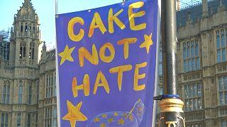 Великобритания: акции протеста в Лондоне