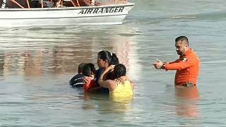 Migranten aus Rio Grande gerettet