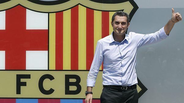 Bis 2020: Neuer Vertrag für Barca-Trainer Valverde