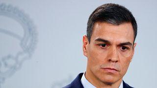 Spanish Prime Minister Pedro Sanchez announces snap election for April 28.