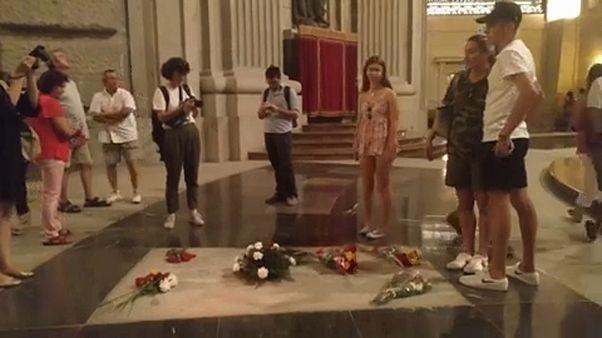 La famille de Franco a 15 jours pour lui trouver une autre sépulture