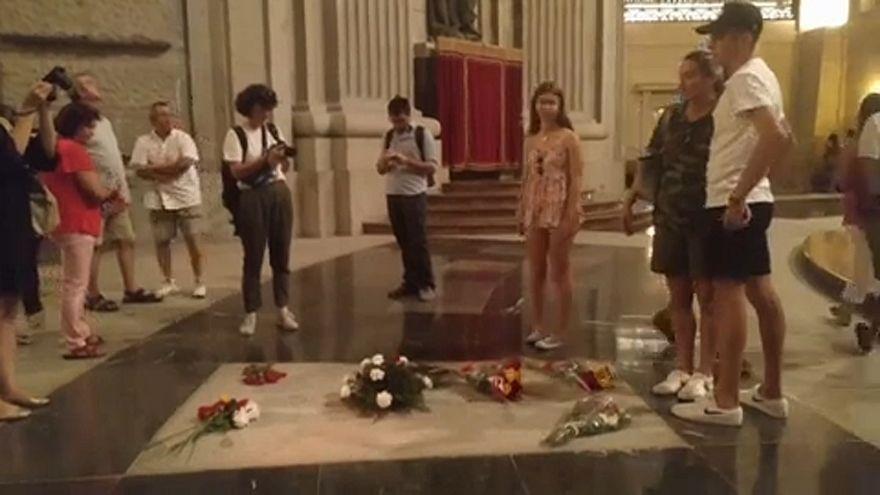 Exhumálják a volt fasiszta diktátort, Francót