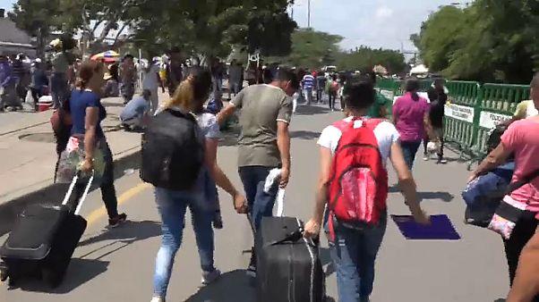 Бегущие из Венесуэлы