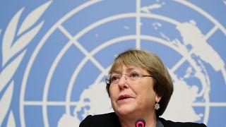 ميشيل باشيليه مفوضة الأمم المتحدة السامية لحقوق الإنسان
