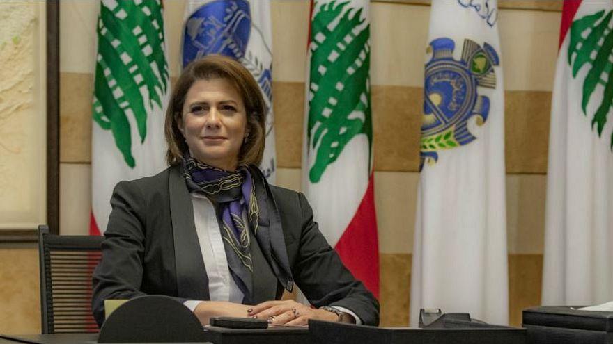 Lebanon's new Interior Minister Raya Al Hassan