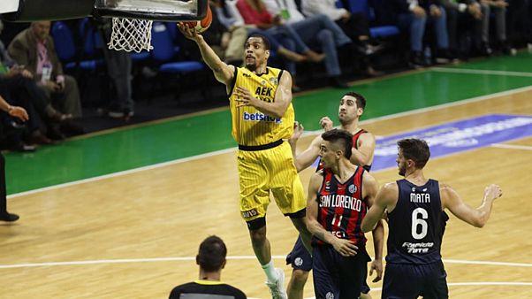 FIBA: Η ΑΕΚ στον τελικό του Διηπειρωτικού Κυπέλλου