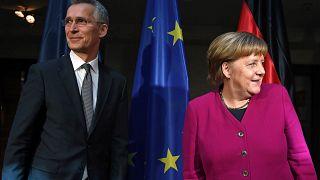 Merkel recusa pressão dos EUA sobre o Irão