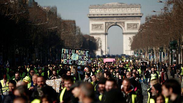 چهاردهمین شنبه اعتراض جلیقهزردها؛ اختلافات رهبران و کاهش شمار معترضان