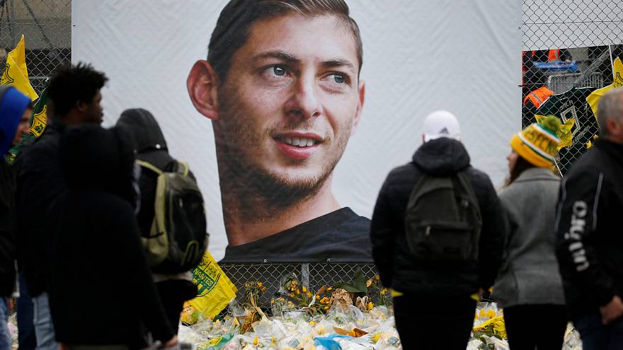Watch again: Emiliano Sala's funeral takes place in his Argentinian home town