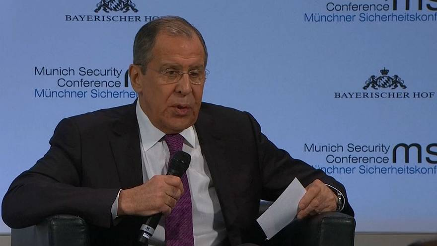 Watch: Lavrov calls British defence secretary 'minister of war'