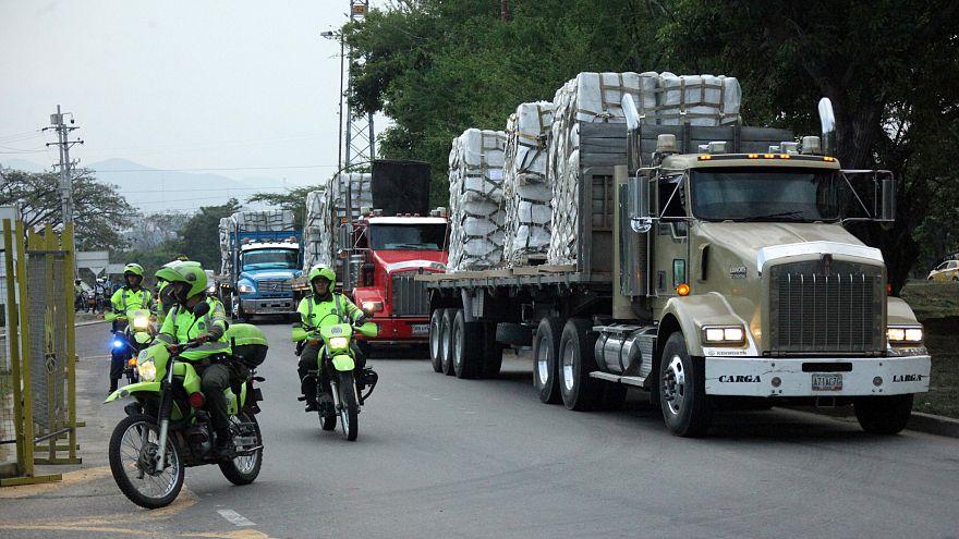 Guaidó gibt Soldaten sieben Tage, um humanitäre Hilfe ins Land zu lassen