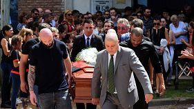 Le dernier adieu au footballeur Emiliano Sala