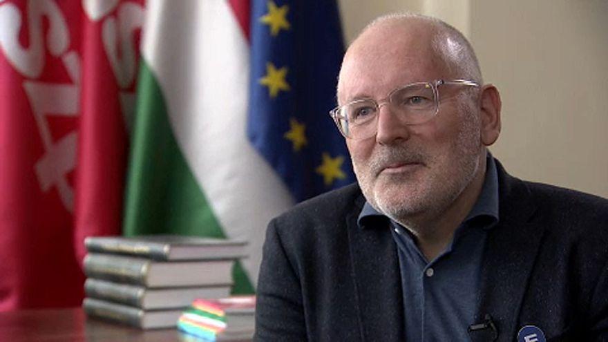 """""""Ez a választás Európa lelkéről szól"""" - interjú Frans Timmermansszal"""