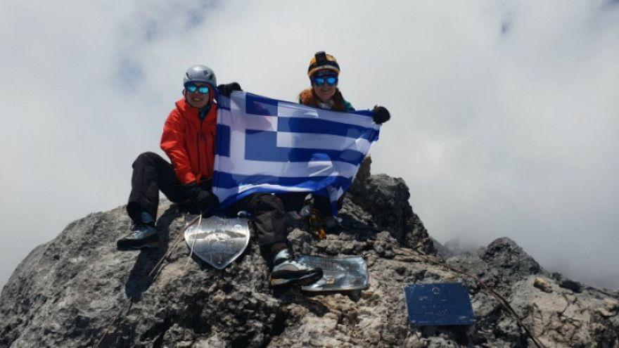 Δύο Ελληνίδες στο Έβερεστ