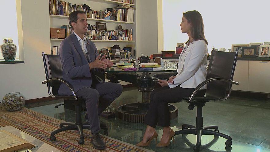 """Guaidó à Euronews: """"Maduro está cada vez mais isolado"""""""