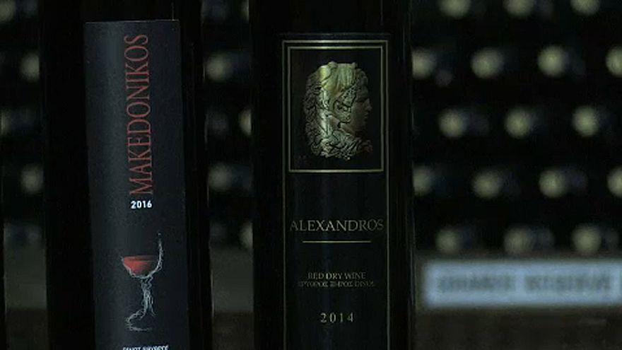 """En Grèce, des producteurs veulent protéger l'appellation """" macédonienne """""""