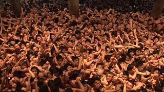 مهرجان الرجال العراة في اليابان