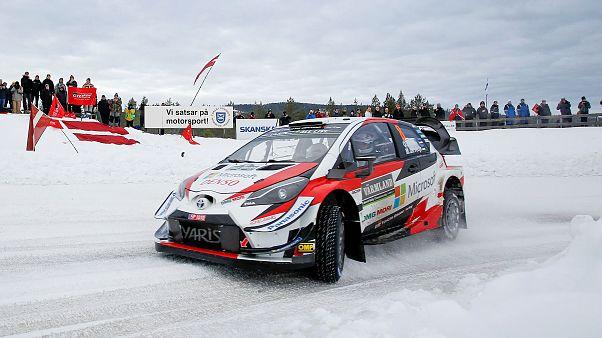 WRC : Tanak prend la couronne en Suède
