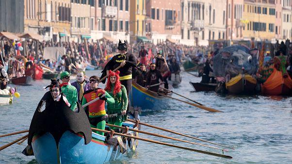 Carnaval e romance no coração de Veneza