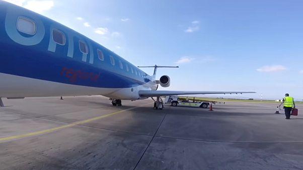 Primi effetti della Brexit: crac Flybmi, disagi per centinaia di passeggeri