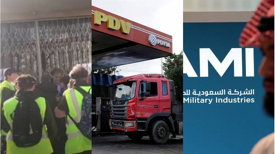 Gilets Jaunes accost philosopher; oil firm PDVSA; France's deal with Saudis