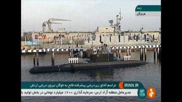 L'Iran exhibe son nouveau sous-marin