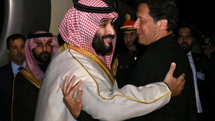 Bin Salman anuncia investimento de 20 mil milhões no Paquistão