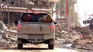 Entscheidungsschlacht um letzte Hochburg der IS-Miliz in Syrien