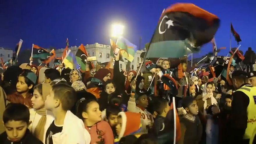 شاهد: الليبيون يحتفلون بالذكرى الثامنة لثورة 17 فبراير