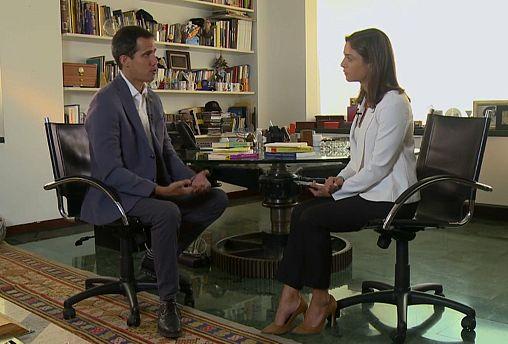 """خوان غوايدو لـ""""يورونيوز"""": مستعد للموت من أجل مستقبل بلادي"""