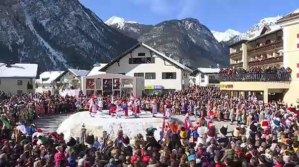 Ausztriában is karneválokkal búcsúztatják a telet