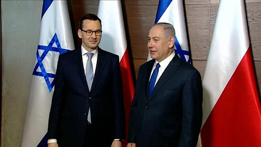 بولندا تستدعي سفيرة إسرائيل لديها ورئيس الوزراء البولندي يلغي زيارة لإسرائيل