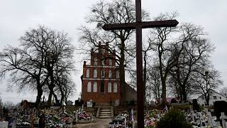 The Church of Saint Jacob in Ostrowite village, Poland