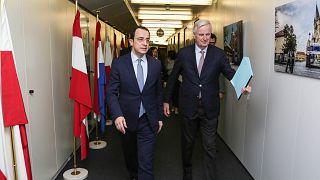 Οι βρετανικές βάσεις εν όψει Brexit στο επίκεντρο συναντησης Χριστοδουλίδη-Μπαρνιέ